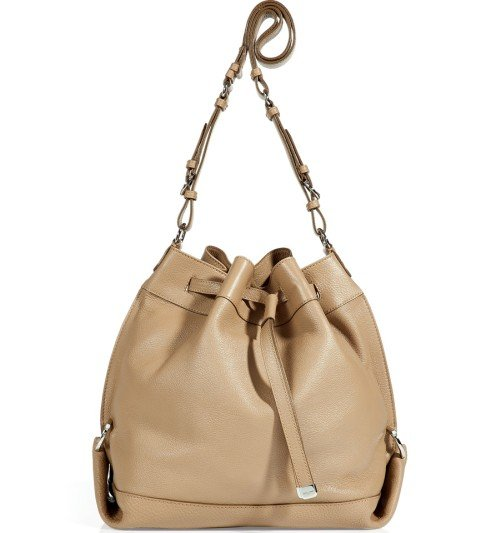 Salvatore Ferragamo Beige Danya Cross Body Tasche