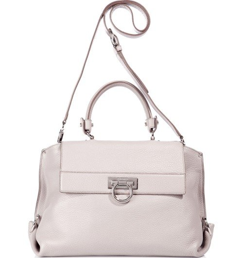 Salvatore Ferragamo The Small Sofia Cement Satchel Tasche