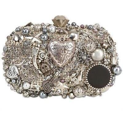Sarah's Bag - Diamant Gothic Box Clutch