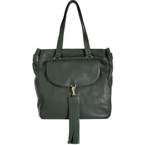 See by Chloe Epicea Green Leather Albertine Tote