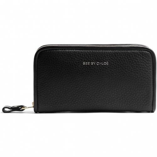 See by Chloe Zip Around Leather Wallet