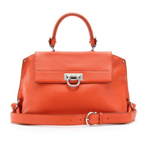 Salvatore Ferragamo Sofia Handtasche Orange