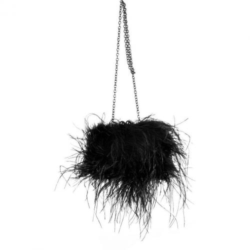 Steffen Schraut Black Feather Bag