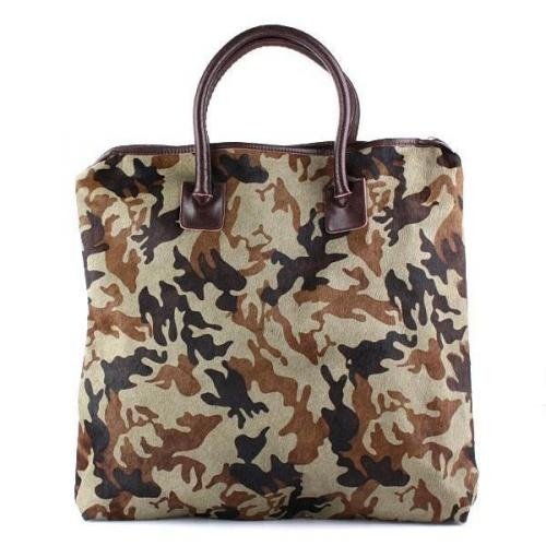 Steffen Schraut NYC Big Fur Shopper Camouflage