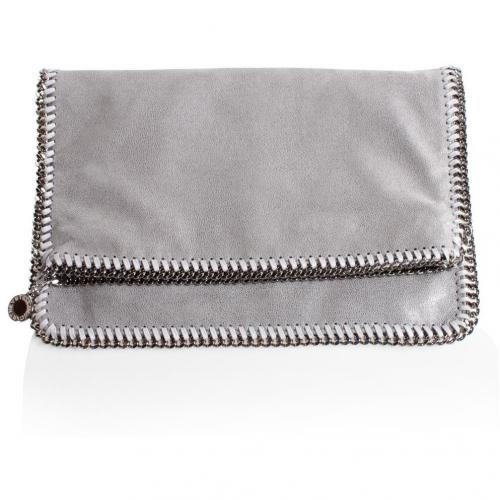 Stella Mccartney Clutch Falabella Hellgrau