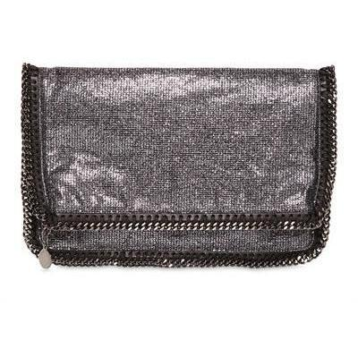 Stella McCartney - Glitzer Fold Over Clutch