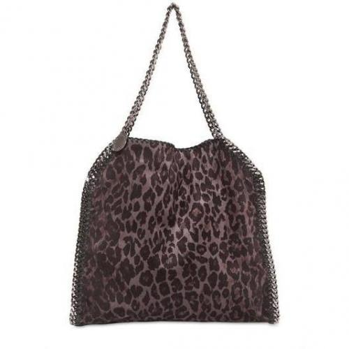 Stella McCartney - Medium Falabella Faux Wildleder Tasche