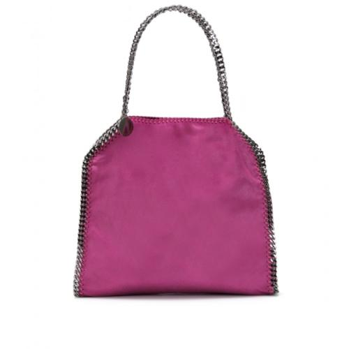 Stella McCartney Falabella Shaggy Deer Big Tote Violett