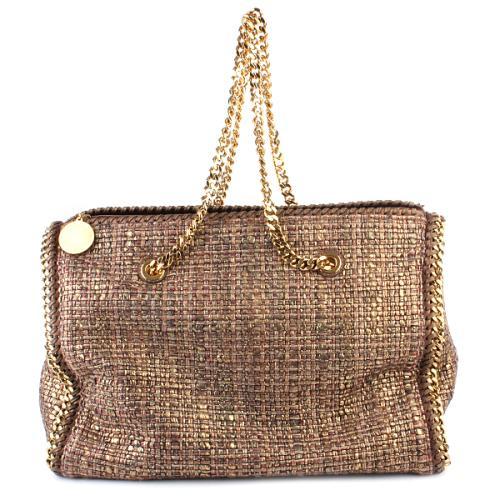 Stella McCartney Falabella Metal Boucle Boston Bag