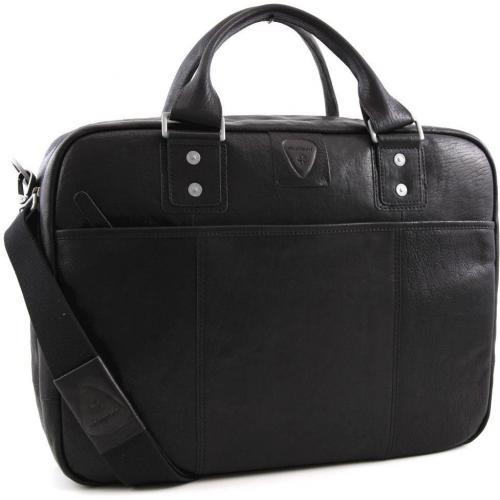 Strellson Voyager Reisetasche Leder schwarz