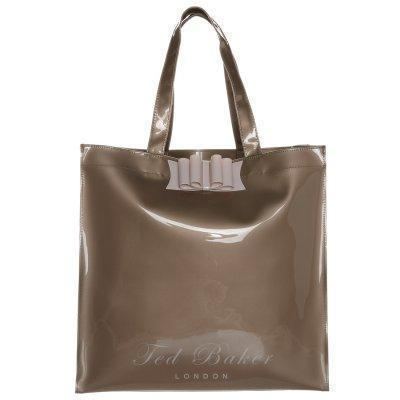 Ted Baker BELECON BOW Shopping Bag rose gold