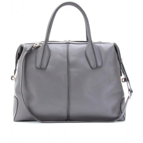 Tod's D-Styling Bauletto Medio Ledertasche Ombra