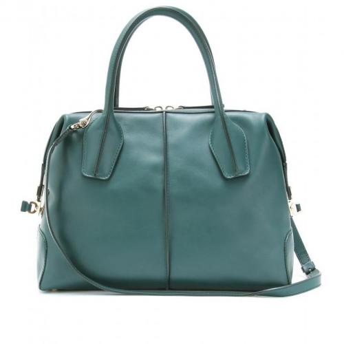 Tod's D-Styling Bauletto Piccolo Ledertasche Berillo Scuro