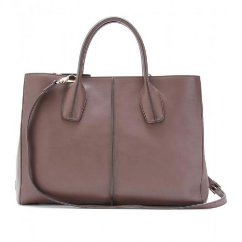 Tod's D Styling Medium Ledertasche Sigaro