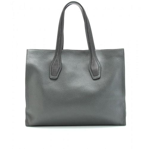 Tod's Shopping Big Ledershopper Grigio