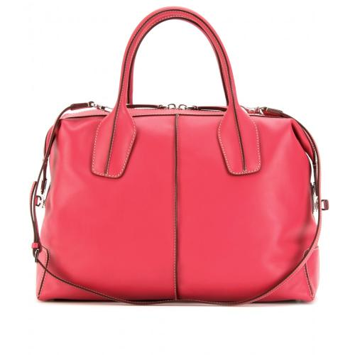 Tod's D-Styling Bauletto Medio Rot
