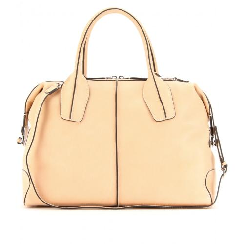 Tod's D-Styling Bauletto Medio Peach