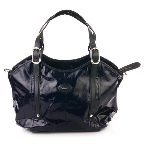 Tod's G-Line Easy Shopping Bag Sagomata Blau