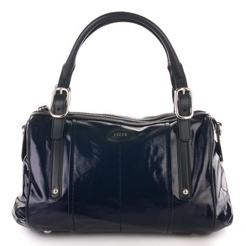 Tod's G-Line Easy Duffle Bag Blau