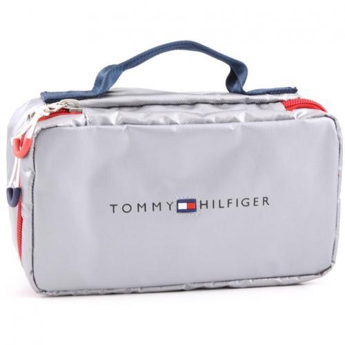 Tommy Hilfiger Cruise Soft Kosmetiktasche silber