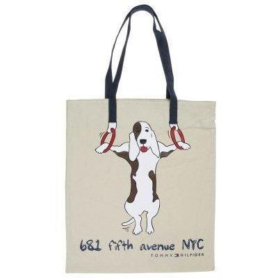 Tommy Hilfiger HILFIGER ICON DOG Shopping Bag oyster grau