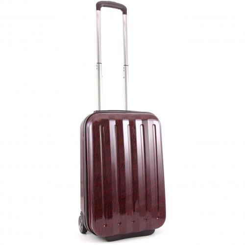 Tommy Hilfiger Monogram Koffer mit  Rollen rot