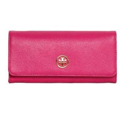 Tory Burch - Saffiano Leder Continental Brieftasche