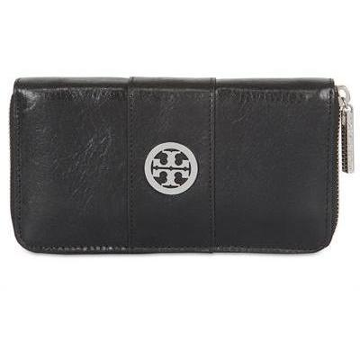 Tory Burch - Veg Tan Zip Continental Brieftasche