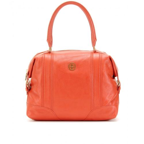Tory Burch Ally Large Leder Tasche Gelb/Orange/Rot