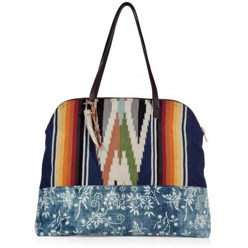 Totem Denim/Multicolor Vintage Tote