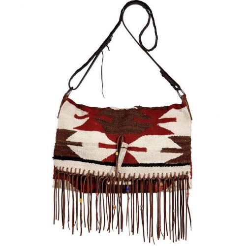Totem Earth Small Saddle Blanket Fringe Bag