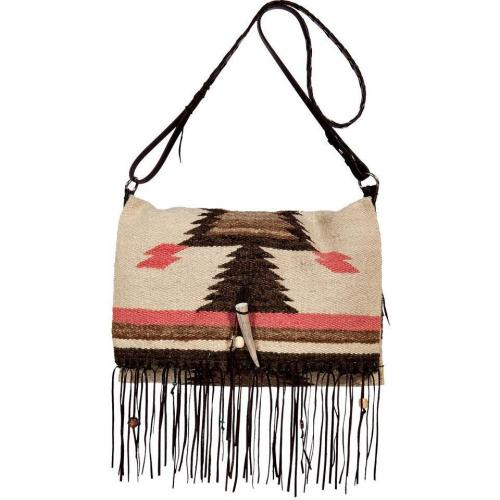 Totem Multicolor Crossbody Vintage Bag