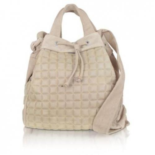 Tuscan's Handtasche aus Leder mit doppeltem Griff