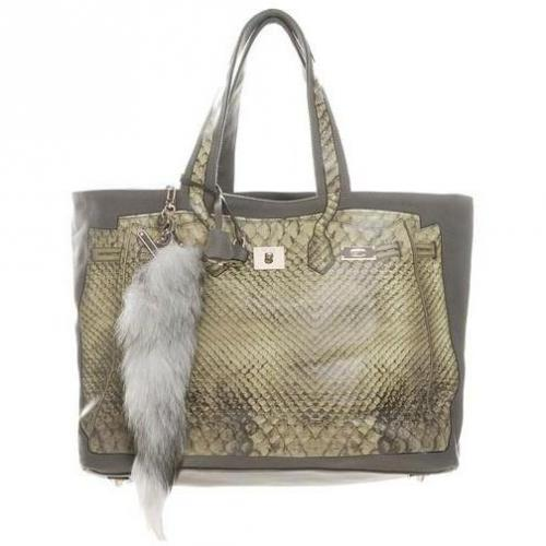 V73 Shopper Luxury taupe-grey