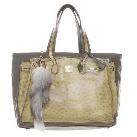 V73 Shopper Luxury taupe-grey Ocker