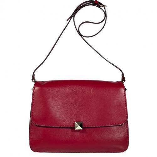 Valentino Barolo Rock Stud Shoulder Bag
