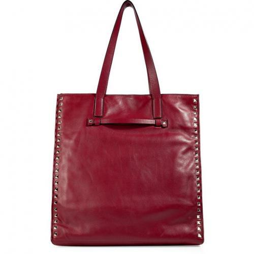 Valentino Barolo Studded Shoulder Bag