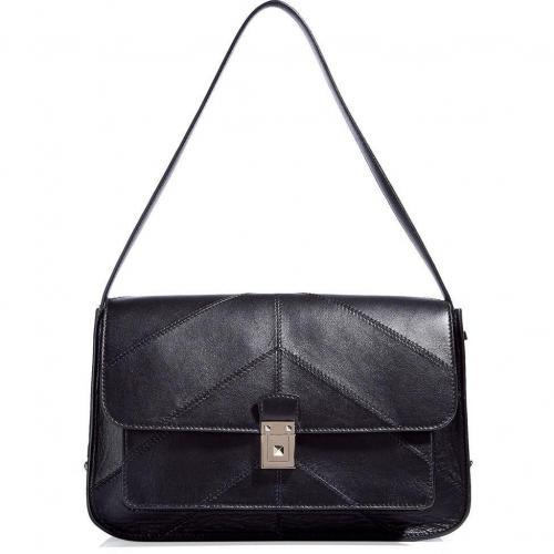 Valentino Black Medium Shoulder Bag