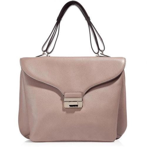 Valentino Old Rose Soft Portfolio Bag