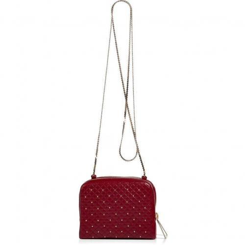 Valentino Ruby Studded Mini Quilted Crossbody Bag