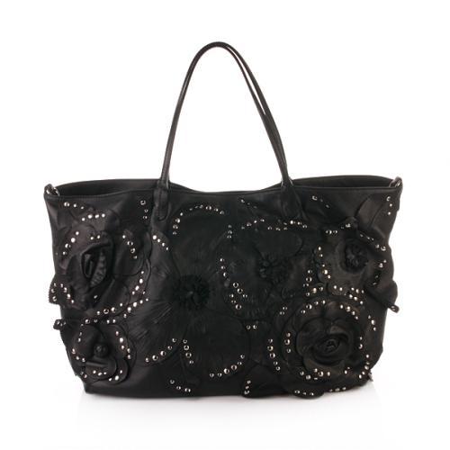 Valentino Black With Flower Detailing