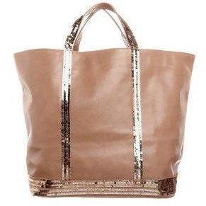 Vanessa Bruno Athé Shopping bag camel