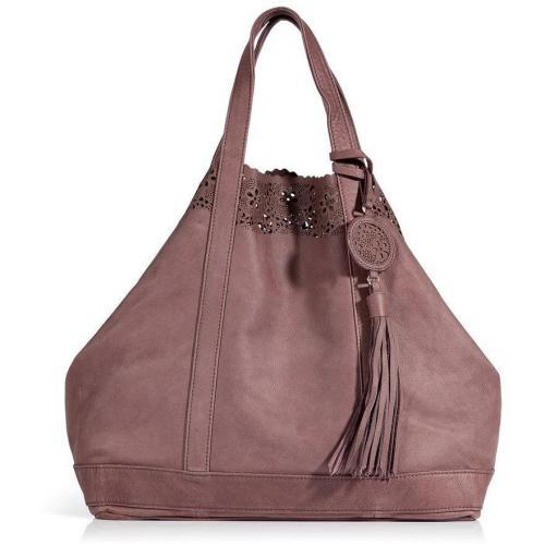 Vanessa Bruno Smoky Violet Leather Large Cabas Bag