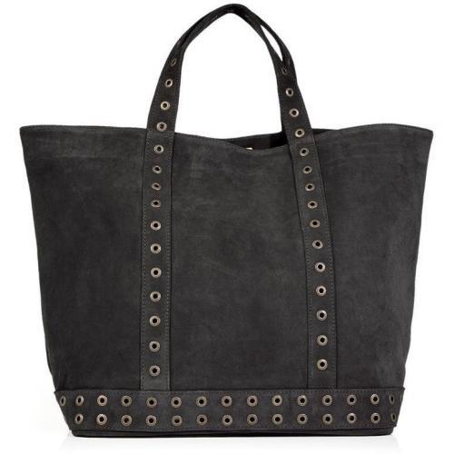 Vanessa Bruno Zinc Studded Suede Big Cabas Bag