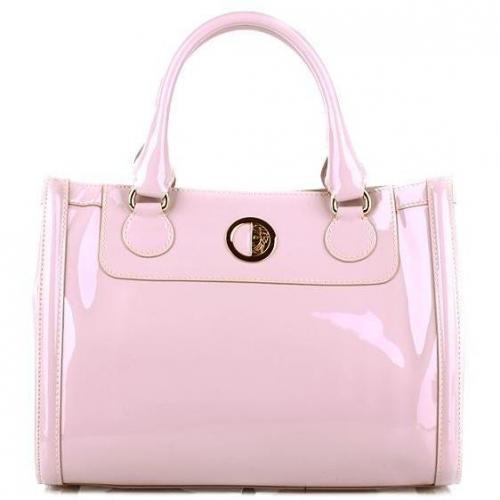 Versace Collection Borsa Vernice Lilla