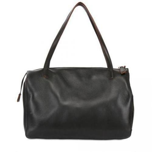 Very Anonymous - Medium Boston Leder & Wildleder Handtasche