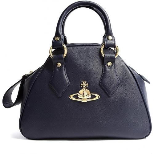 Vivienne Westwood Accessories Faux Leather Mini Yasmin Tote