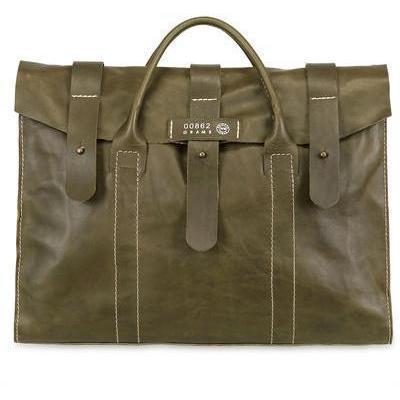 W8 Objects - Rauschnitt Pflanzliche Leder Handtasche