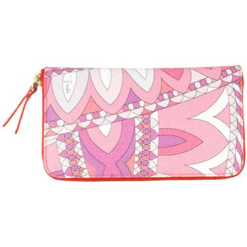 Emilio Pucci Signature Wallet Pink