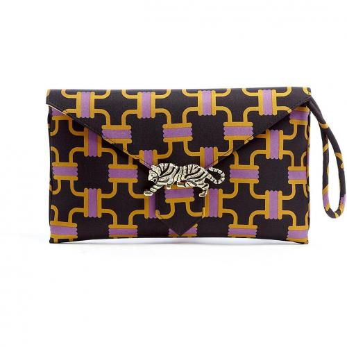 Wilbur & Gussie Black Edith Clutch